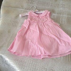 First Impressions Girls Pink  Dress